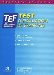 Objectif réussite ; TEF ; livre d'entraînement - Intérieur - Format classique