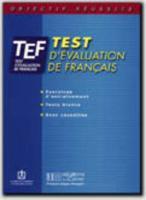 Objectif réussite ; TEF ; livre d'entraînement - Couverture - Format classique