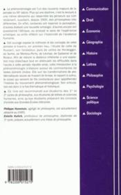 Introduction a la phenomenologie - Couverture - Format classique