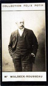 Photographie de la collection Félix Potin (4 x 7,5 cm) représentant : - Intérieur - Format classique