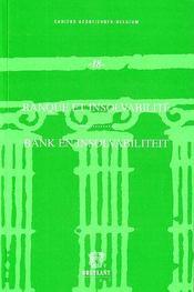 Banque et insolvabilité - Intérieur - Format classique