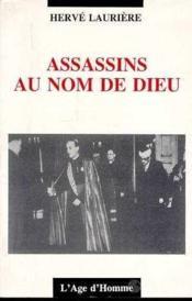 Assassins au nom de dieu - Couverture - Format classique