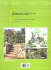 Des Idees Pour Le Jardin - 4ème de couverture - Format classique