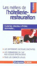 Metiers de l'hotellerie-restauration 5e edition (5e édition) - Intérieur - Format classique