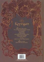 Les contes du korrigan T.1 ; les trésors enfouis - 4ème de couverture - Format classique