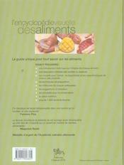 Encyclopédie visuelle des aliments - 4ème de couverture - Format classique