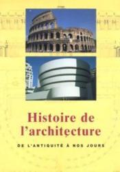 Histoire De L'Architecture De L'Antiquite - Couverture - Format classique