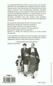 Le Guide De Survie A L'Usage Des Parents - 4ème de couverture - Format classique