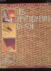 Les Revetements De Sol - Couverture - Format classique