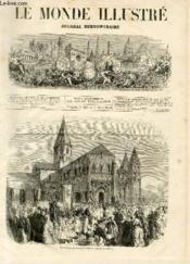 LE MONDE ILLUSTRE N°847 Pèlerinage de Paray-le-Monial (Saône-et-Loire) - Couverture - Format classique