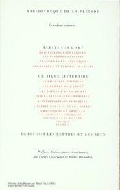 Oeuvres en prose complètes t.2 - 4ème de couverture - Format classique