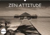 Zen attitude (calendrier mural 2019 din a3 horizontal) - composition graphique de tableaux en peintu - Couverture - Format classique