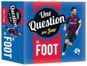 Une question par jour de foot (édition 2020) - Couverture - Format classique