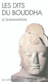 Les dits du bouddha - le dhammapada - Couverture - Format classique