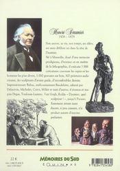 Honore daumier - 4ème de couverture - Format classique