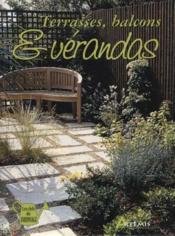 Terrasses, Balcons Et Verandas - Couverture - Format classique
