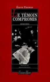 Le témoin compromis - Couverture - Format classique