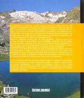 Les plus beaux lacs des Pyrénées - 4ème de couverture - Format classique