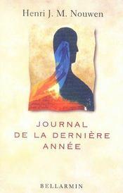 Journal De La Derniere Annee - Intérieur - Format classique