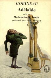 Gobineau adélaïde; Mademoiselles Irnois (texte intégral) - Couverture - Format classique