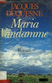 Maria Vandamme. - Couverture - Format classique