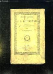 Oeuvres Completes De Jj Rousseau Tome 16: Correspondance Tome 3. - Couverture - Format classique