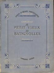 Gaboriau Le Petit Vieux Des Batignolles - Couverture - Format classique