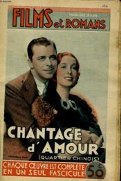 Films Et Romans - Chantage D'Amour - 1ere Annee -N°16 - Couverture - Format classique