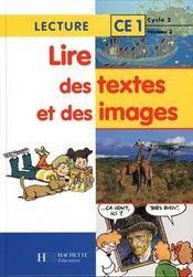 CE1 ; livre de l'élève - Intérieur - Format classique