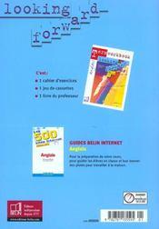 Looking forward ; terminale 2003 eleve - 4ème de couverture - Format classique