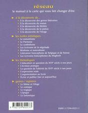 Le Romantisme Les Ecoles Artistiques - 4ème de couverture - Format classique