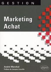 Marketing achat - Intérieur - Format classique
