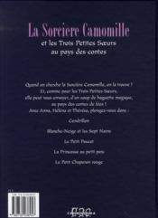Camomille et les trois petites soeurs au pays des contes - 4ème de couverture - Format classique