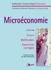 Microéconomie (édition 2007) - Couverture - Format classique