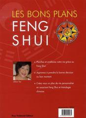 Bons Plans Feng Shui (Les) - 4ème de couverture - Format classique