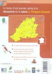 Balades Nature ; Dans Le Parc Naturel Régional Périgord-Limousin (Edition 2005) - 4ème de couverture - Format classique