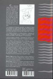 De l'éducation spécialisée - 4ème de couverture - Format classique
