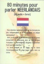 80 minutes pour parler néerlandais - Intérieur - Format classique