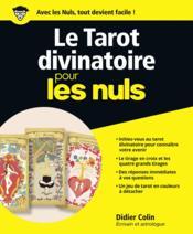 Le tarot divinatoire pour les nuls - Couverture - Format classique