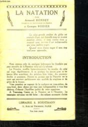 La Natation. - Couverture - Format classique