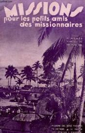 MISSIONS POUR LES PETITS AMIS DES MISSIONNAIRES, 4e ANNEE, N° 12, DEC. 1936 - Couverture - Format classique