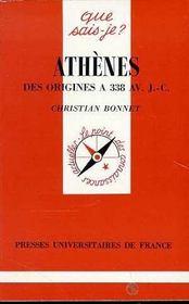 Athènes des origines à 338 av. J.-C. - Intérieur - Format classique