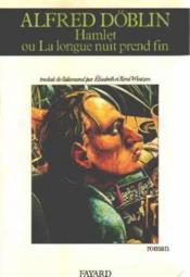 Hamlet Ou La Longue Nuit Prend Fin - Couverture - Format classique