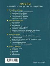 Le Parnasse Les Ecoles Artistiques - 4ème de couverture - Format classique
