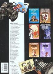 LUNA FATALE. Spirou et Fantasio, tome 45 - 4ème de couverture - Format classique