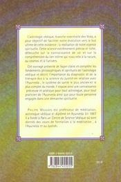 Ayurveda et astrologie vedique - 4ème de couverture - Format classique