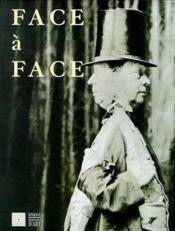 Face A Face Portraits D'Artistes En Ile De France - Couverture - Format classique