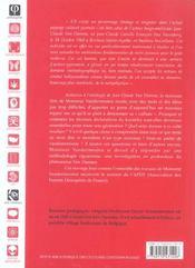 Initiation à l'ontologie de Jean-Claude Van Damme ; le concept aware, la pensée en mouvement - 4ème de couverture - Format classique
