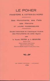 Le Poher Finistere Et Cote Du Nord - Couverture - Format classique