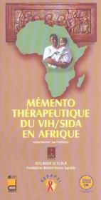 Memento Therapeutique Du Vih/sida En Afrique - Intérieur - Format classique